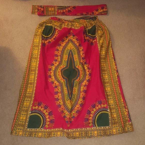D'iyanu Dresses & Skirts - Print Skirt
